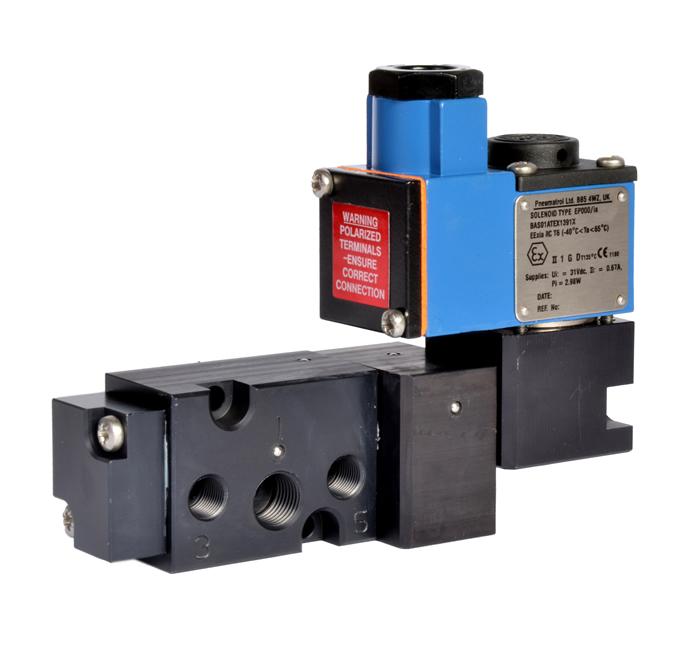 Pneumatrol solenoid valve